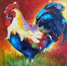 Home Decoration Canvas Print Pattern Artwork UnstretchedRooster36x36 inch *** Continue to the product at the image link.