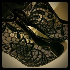 Nicolas Kirkwood Embroid suede sandal/brand NEW Brand new! Black and clear sandals Made in Italy Heel measures approximately 110mm/ 4.5 inches Mesh, suede Embroidered, glitter-finished trim, peep round toe Elasticated slingback strap Nicolas Kirkwood  Shoes Sandals