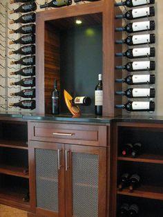 Symmetry. #winecellar #wine #wineroom #interiordesign