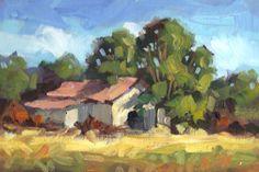 Landscape+Art | TOM BROWN FINE ART: RURAL LANDSCAPE PAINTING BY TOM BROWN