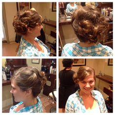 FormL updo by Gina at style Masters of Malvern