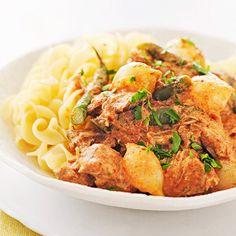 Chicken Paprikash - FamilyCircle.com
