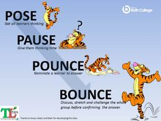 Pose Pause Pounce Bounce Teaching Critical Thinking, Visible Learning, Co Teaching, Teaching Strategies, Math Practice Standards, Assessment For Learning, Math Practices, Classroom Management, Things That Bounce