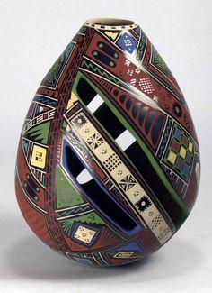 Mata+Ortiz+Pottery+by+Isidro+Ortiz+-+Olla+