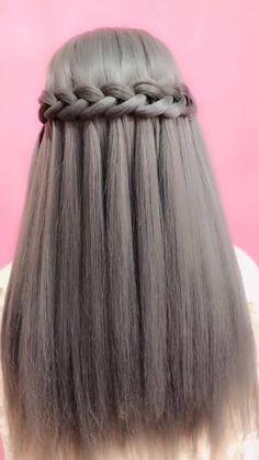 Bride Hairstyles Step By Step is part of Step By Step Wedding Hairstyles Best An. Bride Hairstyles, Summer Hairstyles, Easy Hairstyles, Hairstyle Hacks, Easy Hair Up, Short Wedding Hair, Hair Videos, Hair Designs, Hair Looks