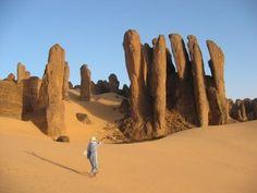 Tassili of Hoggar. Algeria Desert Dream, Desert Life, Travel Around The World, Around The Worlds, Deserts Of The World, Desert Environment, Desert Oasis, World Cities, Deserts