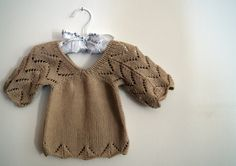 Baby Sweater @knittingcafe #knitting #children #baby #sweater