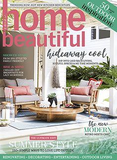 Home Beautiful February 2017 Interior Garden Design Australian Homes Gardens