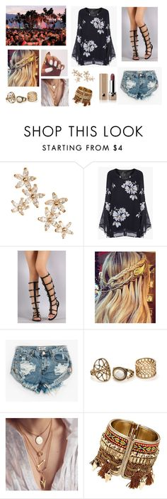 """""""✌"""" by aldi-mix on Polyvore featuring Bonheur, One Teaspoon y Marc Jacobs"""