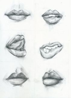how to draw | excample | lips