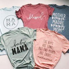 #Valentines #AdoreWe #Jane.com - #Poppy & Pine Baby Mama Tees - AdoreWe.com