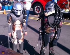 Picture of Predator Costumes - Bio Helmets, Latex Skin, Armor and Blades Scariest Halloween Costumes Ever, Best Costume Ever, Halloween Costume Contest, Halloween Costumes For Kids, Halloween Tricks, Halloween 2014, Costume Ideas, Predator Costume, Predator Cosplay