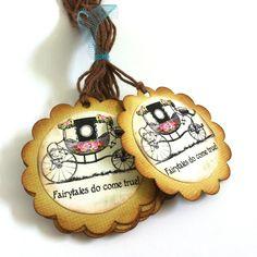 Fairy Tales Wedding Favor Tags - Fairytales Do Come True https://adorebynat.com/product/fairy-tales-wedding-favor-tags/?utm_campaign=crowdfire&utm_content=crowdfire&utm_medium=social&utm_source=pinterest