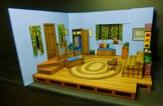 LANCE CARDINAL: MISTER ROGERS NEIGHBORHOOD TELEVISION HOUSE MINIATURE
