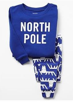 What a cute Christmas north pole sleep set for your little one at Gap Canada #UglySweater #Swagbucks #MakingItReindeers