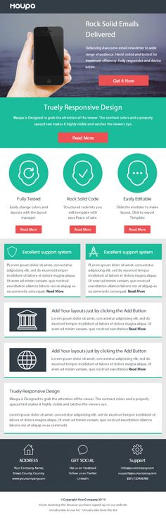 clean responsive email design