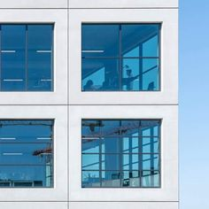 Image 19 of 24 from gallery of Salt / MVRDV. Photograph by Ossip van Duivenbode Building Facade, Building Exterior, Amsterdam, Stair Detail, Flexible Working, Facade Design, Window Design, Contemporary Architecture, Salt
