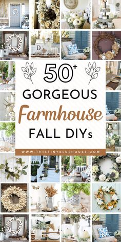 Farmhouse Fall Wreath, Rustic Farmhouse, Farmhouse Ideas, Farmhouse Style, Farmhouse Lighting, Farmhouse Design, Cool Diy, Fall Vignettes, Diy Fall Wreath