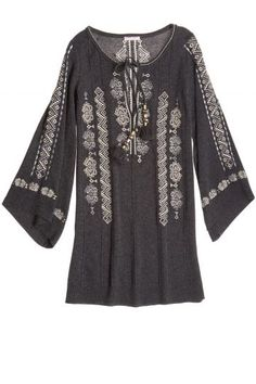 Rangari Embroidered Cashmere Sweater Tunic | Calypso St. Barth