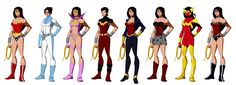 Wonder Women (based on Phil Bourassa's work) by Majinlordx.deviantart.com on @deviantART