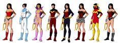 Wonder Women (based on Phil Bourassa's work) by Majinlordx.deviantart.com on @deviantART