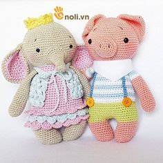 Crochet Bunny Pattern, Crochet Dolls, Charts, Chibi, Dinosaur Stuffed Animal, Elephant, Lily, Teddy Bear, Diy Crafts