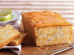 Apple Cheddar Bread -- sweet n savory!