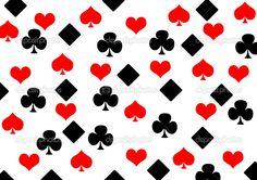 Poker background - Stock Image
