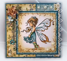 Stamp With Julie: Silver Fairy