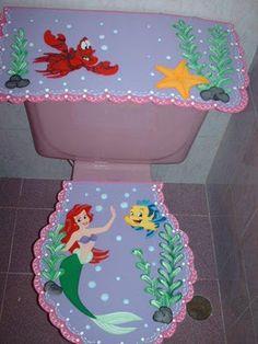 decoracion para el baño en foami