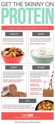 6 effective ways to get protein in your diet