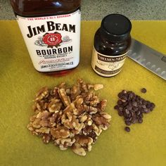 #BrunchWeek #sneakpeak because every good recipe starts with #bourbon @cawalnuts #nielsenmassey & @pacarichocolate. Via @lovenconfection