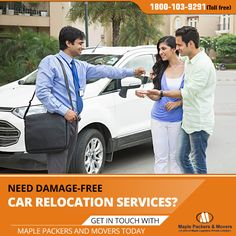 Get Damage free Vehicle Relocation with Best Packers and Movers    #carrelocation #vehiclemoving #bestpackersandmovers #movingcompany