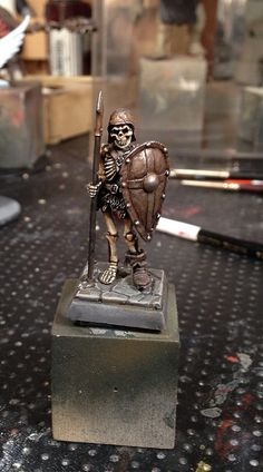 Otherworld Miniatures Armored Skeleton