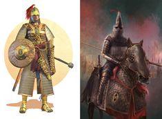 """El Guerrero Persarecibía el nombre de """"inmortal"""", ya que siempre lo formaban el mismo número de guerreros: 10.000"""