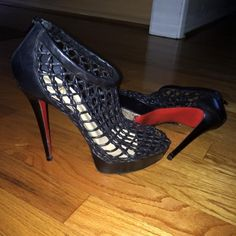 """Selling this """"Authentic Christian Louboutin booties SIZE 41"""" in my Poshmark closet! My username is: sistaah. #shopmycloset #poshmark #fashion #shopping #style #forsale #Christian Louboutin #Shoes"""