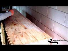 Kalkwas Wit & Zwart Aanbrengen - YouTube