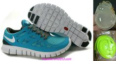 new styles 9bf4a ceae1 Chalcedony Dragon Volt Lace Womens Nike Free Run 2 Gray Jade Shoes