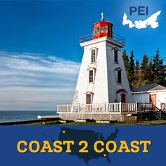 Whether you're geocaching or just snapping photos, Prince Edward Island is home to dozens of beautiful lighthouses. Check out Panmure Island Lighthouse, Point Prim Lighthouse, Souris Historic Lighthouse, Cape Bear Lighthouse, and more.