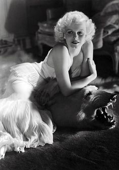 Jean Harlow..a true classic beauty who died much too young.