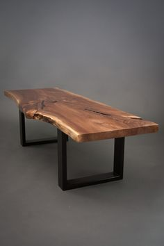 Tommy - Reclaimed Black Walnut Wood Coffee Table