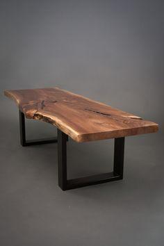 Tommy - Reclaimed Black Walnut Wood Coffee Table