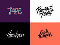 I've done a few hand-drawn logo animations recently, and I've decided to collect them onto one page since it's the same style.  So... a bunch of cel animated liquid style logos on Behance    Instag...
