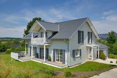 Der Traum vom eigenen Biohaus wurde wahr!Familie Motz-Russ realisiert ihr modern interpretiertes Landhaus. - Das 148 m² große Einfamilienhaus mit dem Satteldach und der groß...