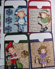 Gift card holders - bjl