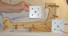 Warping Your Mini Card Tablet Loom from Palmer Looms