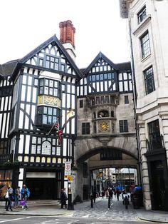 Liberty's of London, England
