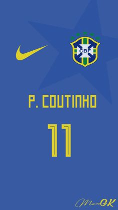 Brazil Coutinho Jersey 2018 MauroGK Liverpool Players, Liverpool Football Club, Soccer Kits, Youth Soccer, Coutinho Wallpaper, Go Brazil, Italia Soccer, Word Cup, Sports Drawings