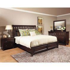Addison Sleigh Bedroom Set