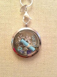 add a little note to the inside of an Origami Owl locket as part of a gift giving idea...  http://dreambig.origamiowl.com/hostess/jewelry-bar/